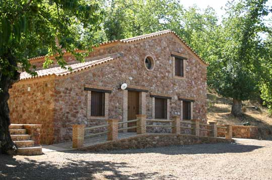 El portal de la sierra de aracena en internet casa rural finca el tornero - Casas rurales sierra de aracena ...